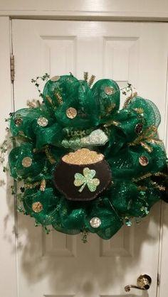 Saint Patrick Day Wreath !