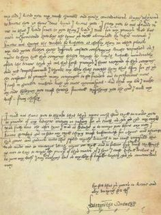 Letter of Queen Katherine Parr to Lord Thomas Seymour.