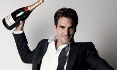 Roger Federer - Moet & Chandon Brand Ambassador