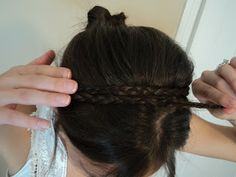 braided hair headband