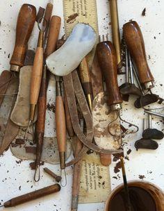 ceramic tools. by leslie williamson.
