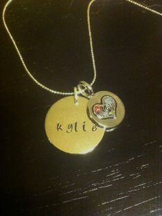 Hand stamped jewlery charms for necklaces by SubtleStatements425, $15.00