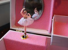 Pink Ballerina Jewelry Box.