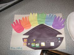 Noah's Ark Craft sunday school, noahs ark craft ideas, church, bibl craft, noah ark, activ, preschool crafts, kid, preschools