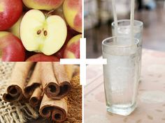 Apple and cinnamon water