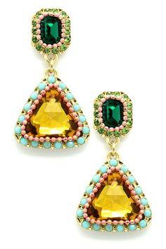LOVE these, Crystal Drop My Ear Earrings