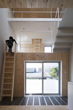 Climber´s House / Komada Architects' Office
