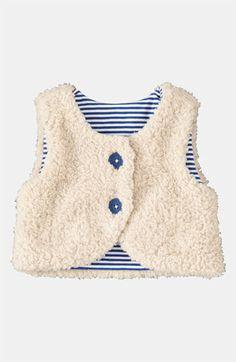 Mini Boden Fleece Vest (Infant) available at #Nordstrom
