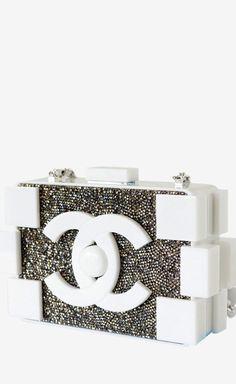Chanel Bag Lego Runway Beaded Limited Edition Handbag