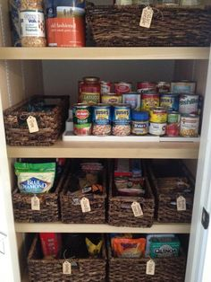 Love this organization!  Dashing Dish Pantry Must-Haves