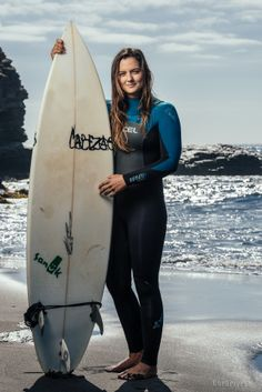 Janelle Anderson. One of Chile's best surfers. #pichilemu #surf #chile