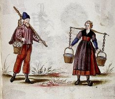 Workers, french?  Ger. c 1598-1610 MS Douce 244 by tony harrison, via Flickr