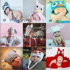 Wholesale baby crochet hat kid cotton animals cap children handmade caps --all designs in stock, Free shipping, $5.22-5.97/Piece | DHgate