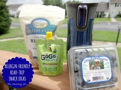 Allergen-Friendly Road Trip Snack Ideas - the last one on the list may surprise you! #sponsored http://www.thisflourishinglife.com/2013/07/allergen-friendly-road-trip-snack-ideas.html