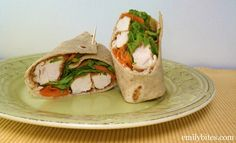 Buffalo Chicken Wraps - 7 WW P+