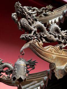 chinese dragon detail