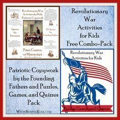 FREE American-Revolution-Combination-Pack!
