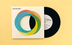 Vintage Wedding invitation  Retro Record with Sleeve by ElloThere, $6.50