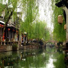 Zhouzhuang, China (Zhouzhuang is a town in Jiangsu province, China. It is located within Kunshan county-level city, 30 km southeast of Suzhou).