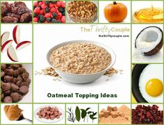 88 Ideas for Oatmeal Toppings and Mix-ins with Free Download that is printable to keep in a home binder or taped inside of a cabinet for easy reference.