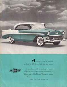 1956 Chevrolet Bel Air 4 Door Hardtop