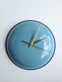 recycled clock, upcycl clock