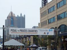 Pedal for Pirates Charities on Federal Street.
