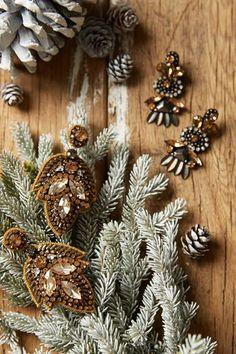 holiday jewelri, anthro blog, anthroblog, earring, christma