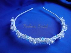 Crystal Headband  Bridal crystal headpiece  by Hoalanebridal #weddings #brides #prom