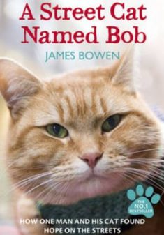 A Street Cat Named Bob.....James's book, A Street Cat Named Bob, a feelgood story that chronicles how the 33-year-old busker and one-time homeless heroin-addict turned his life around with the help of his cat, has sold more than 250,000 copies and been translated into 18 different languages.