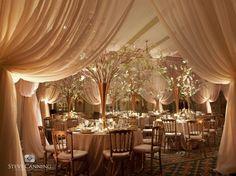 stunning gold wedding decor