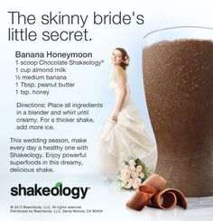 Forget Skinny Bride - I'm feeling like a HEALTHY & STRONG bride to be with Shakeology & the 21 Day Fix workout & meal plan http://soreyfitness.com/fitness/21-day-fix-autumn-calabrese/
