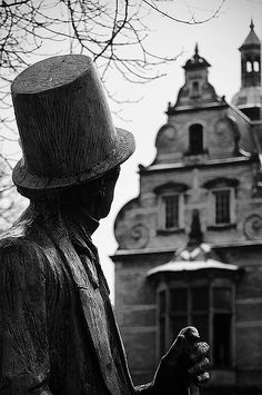 Hans Christian Andersen Copenhagen Denmark. Made sure I saw The Little Mermaid but didn't know about this...next time.
