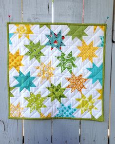 Schnitzel and Boo Mini Quilt by CreativeReveries, via Flickr