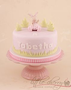 Lettice the Rabbit Cake by Little Cherry Cake Company, via Flickr