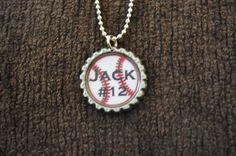 Baseball Mom Necklace