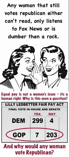 Equal rights for women. Which century are we in now?