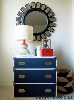 Campaign Dresser- Changing table