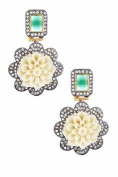 Pretty Flower Earrings.