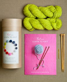 Learn to Knit from Purl Soho