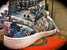 """Air Jordan 1 """"Kyushu"""" Custom"""