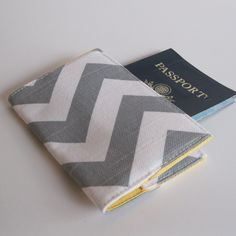 Chevron Passport Cover, yes please.