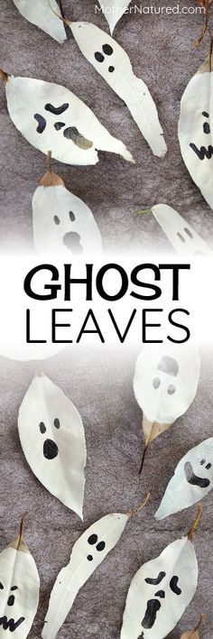Leaf Ghosts | Hallow