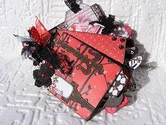 Bo Bunny - Crush, mini album from paper roll :D