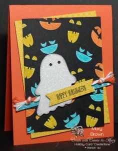 stampercamper.com - Here's a fun way to use your Blendabilities! I just LOVE this Halloween set and you can get a FREE tutorial on making this and THREE more ADORABLE Halloween cards! Sets: Fall Fest, And Many More