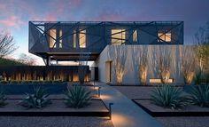 Amazing Grey House in Las Vegas – Fubiz™