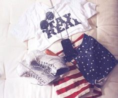 america short, fashion, 4th outfit, real america, dream closet, bed, everyday style, star, stripe