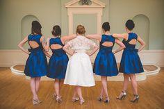 Blue and White Wedding Ideas - Whimsical Vintage Wedding