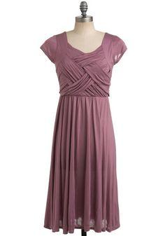 Modcloth mauve dress