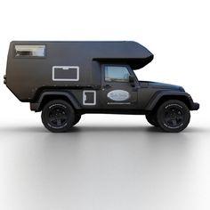 2013 jeep wrangler actioncamper 3d model - Jeep Wrangler Actioncamper 2013... by TAURUS_X